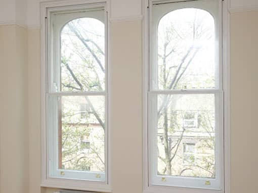 Vertical Sliding Secondary Glazing for Heritage Properties
