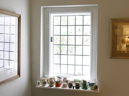 Great Features with Vertically Sliding Secondary Glazing