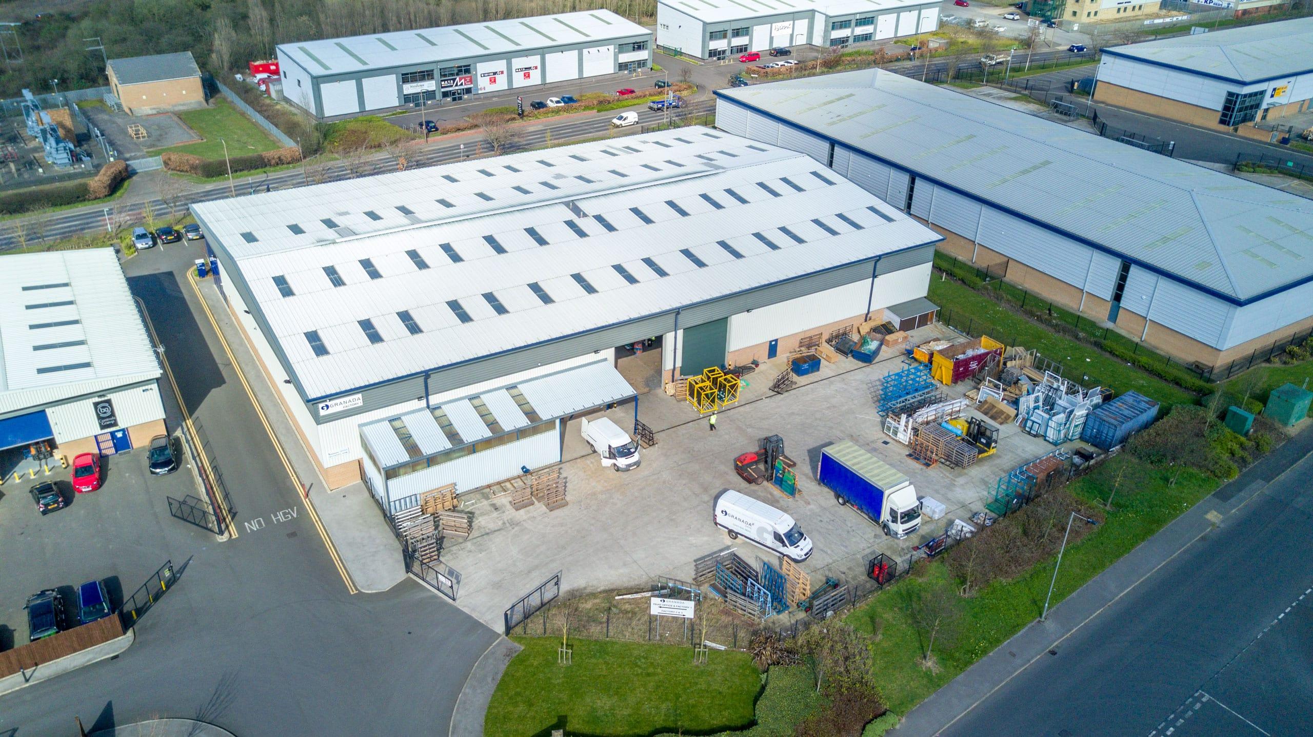 Production factory for Granada Secondary Glazing